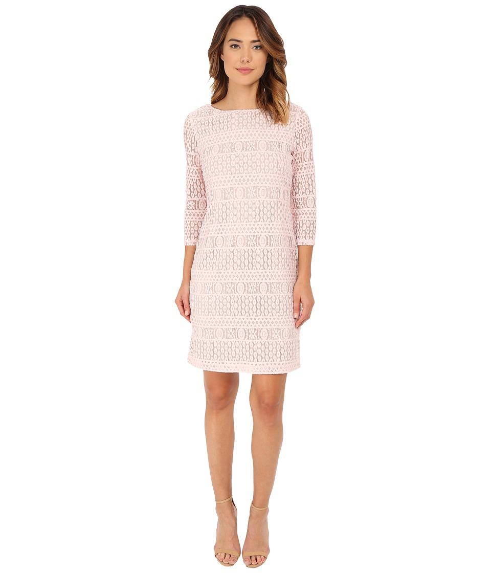 rsvp - Emma Lace Dress (Pale Pink) Women's Dress