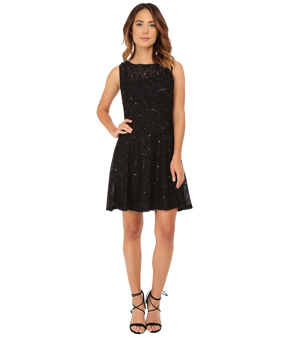 rsvp - Evelyn Lace Dress (Black) Women's Dress