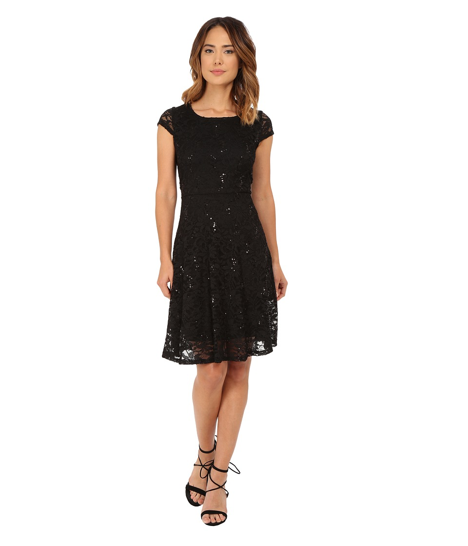 rsvp - Sofia Dress (Black) Women's Dress