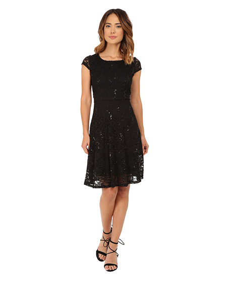 rsvp - Sofia Dress (Black) Women's Dress