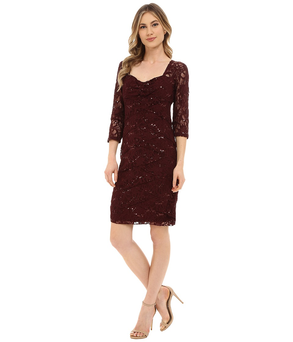 rsvp - Donelle Dress (Wine) Women's Dress