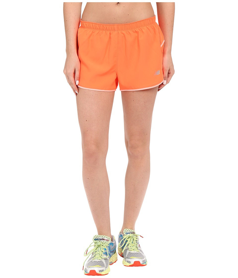 New Balance - Sequence Woven Shorts (Dragonfly) Women's Shorts