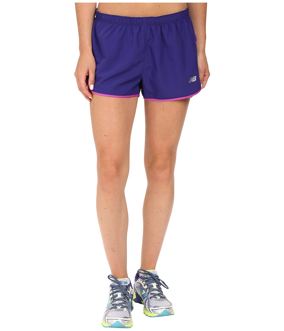 New Balance - Sequence Woven Shorts (Lazarite) Women's Shorts