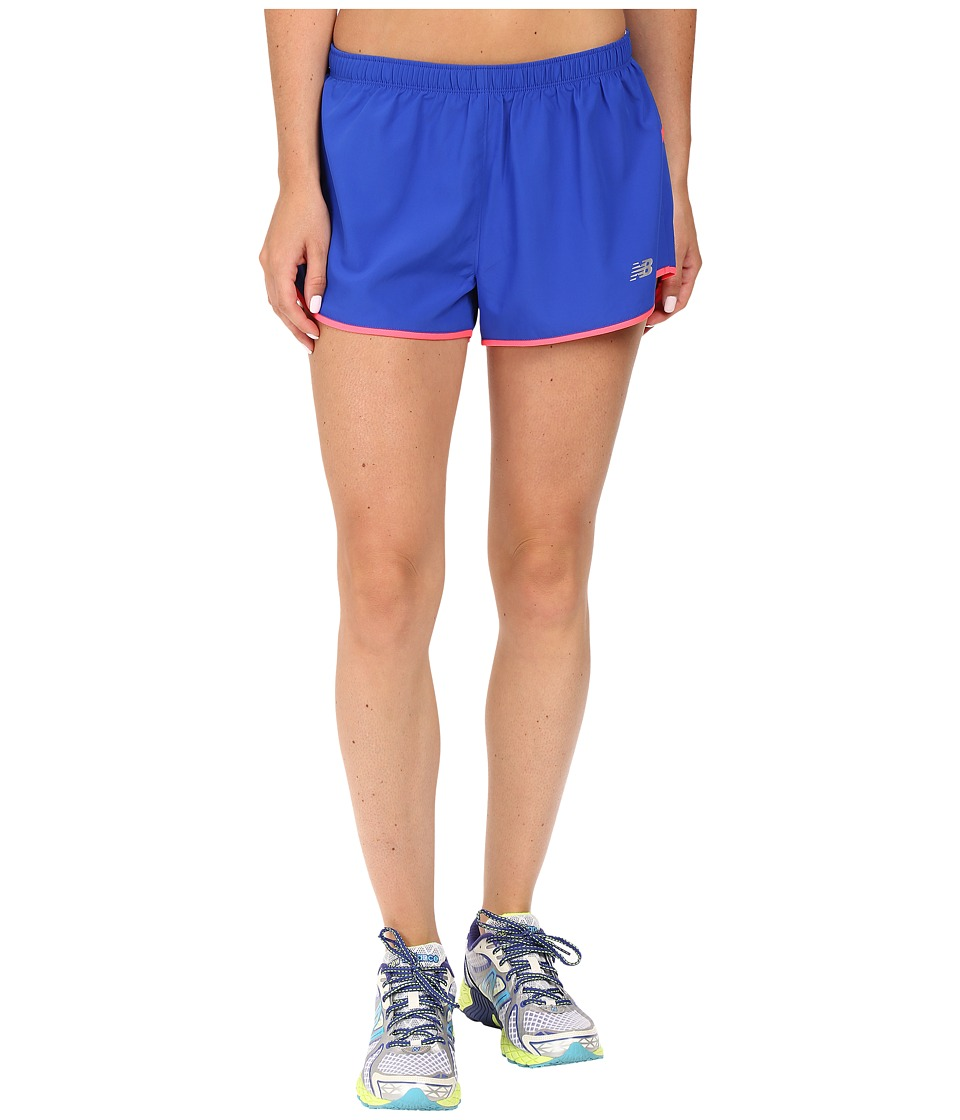 New Balance - Sequence Woven Shorts (Pacific) Women's Shorts