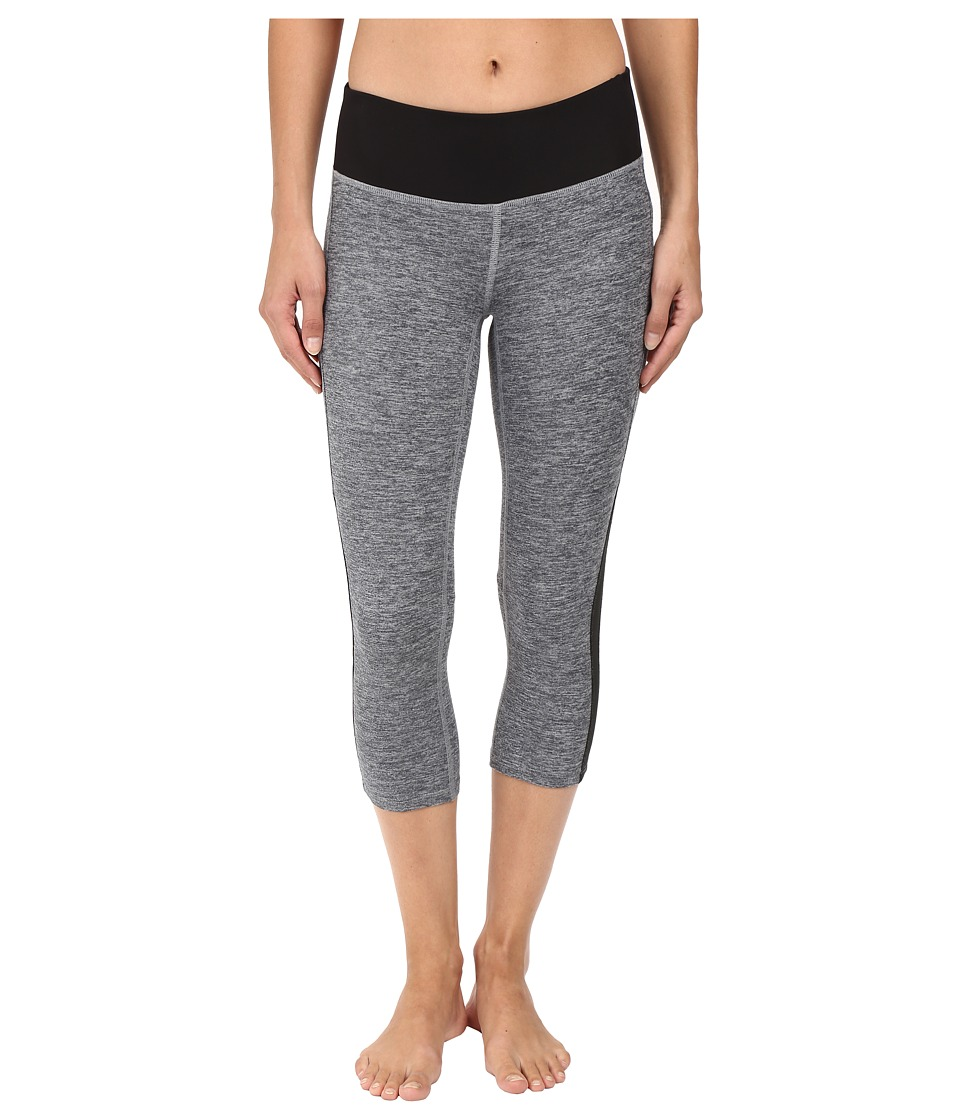 New Balance - Melange Crush Capris (Black Multi) Women's Capri
