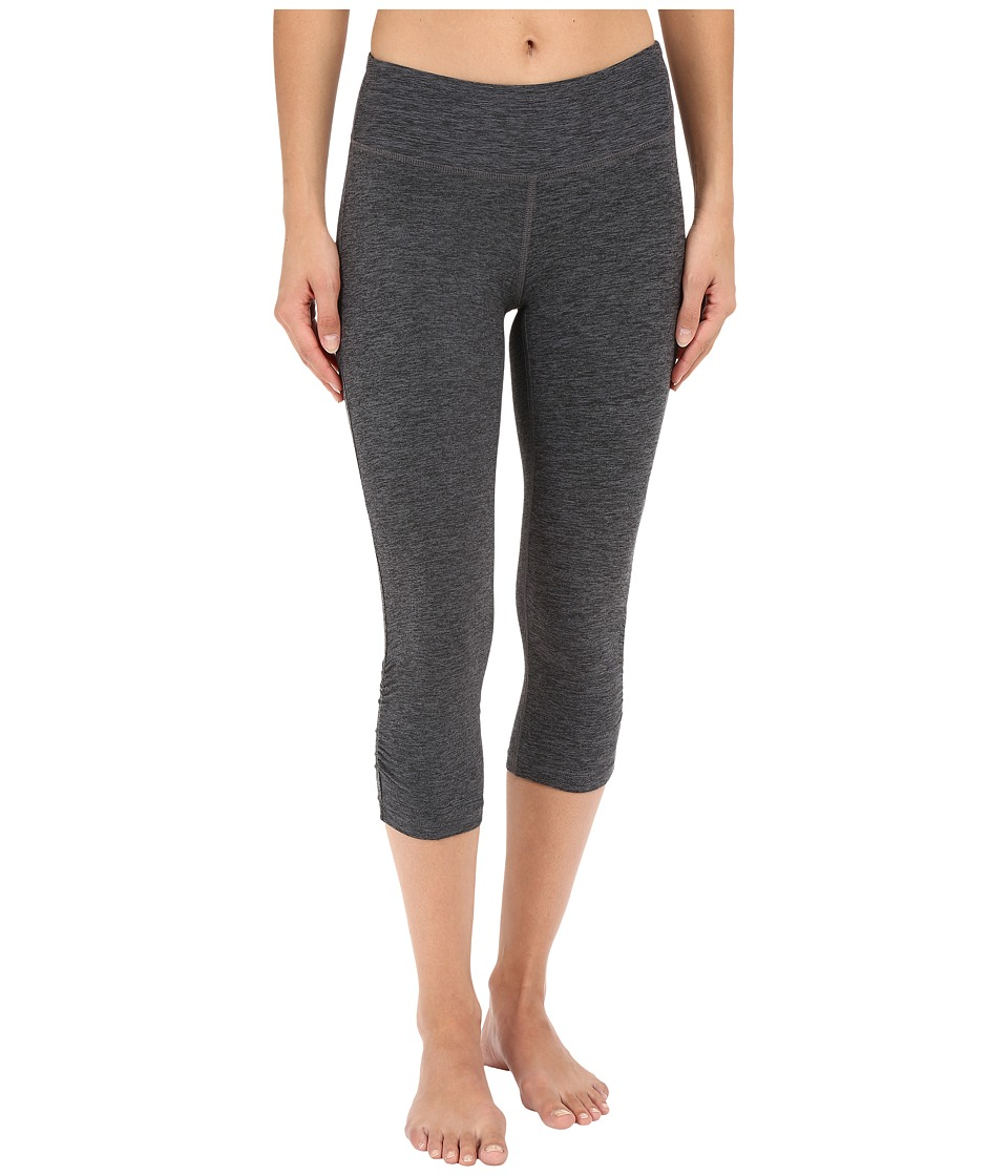 New Balance - Space Dye Capris (Black Grey) Women's Capri