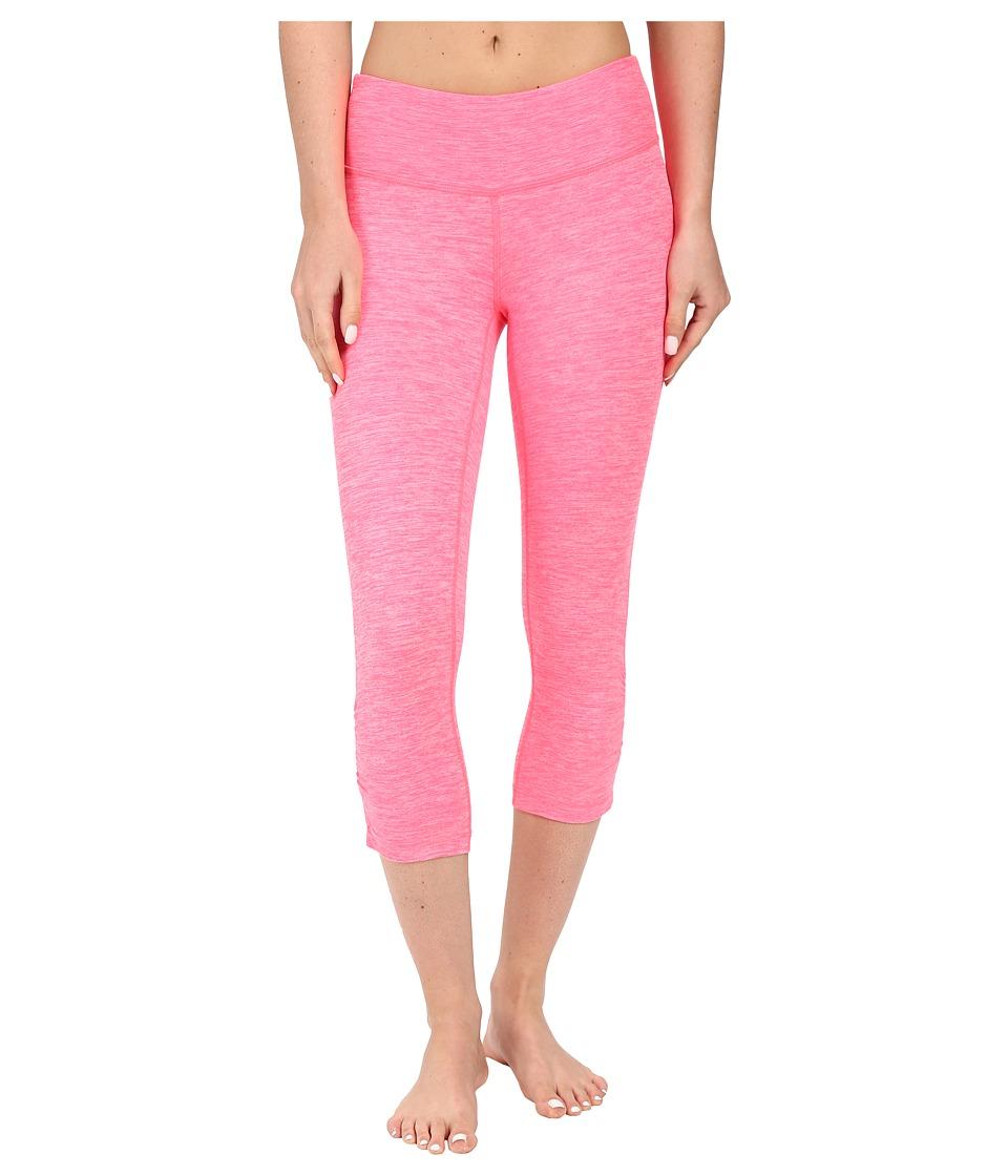 New Balance - Space Dye Capris (Pink Zing) Women's Capri