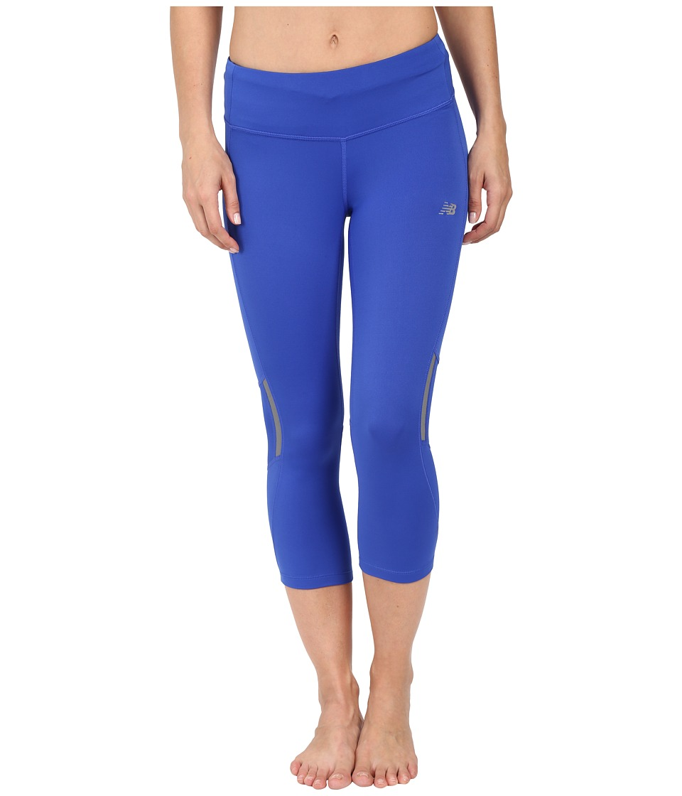New Balance - Run Capris (Pacific) Women's Capri