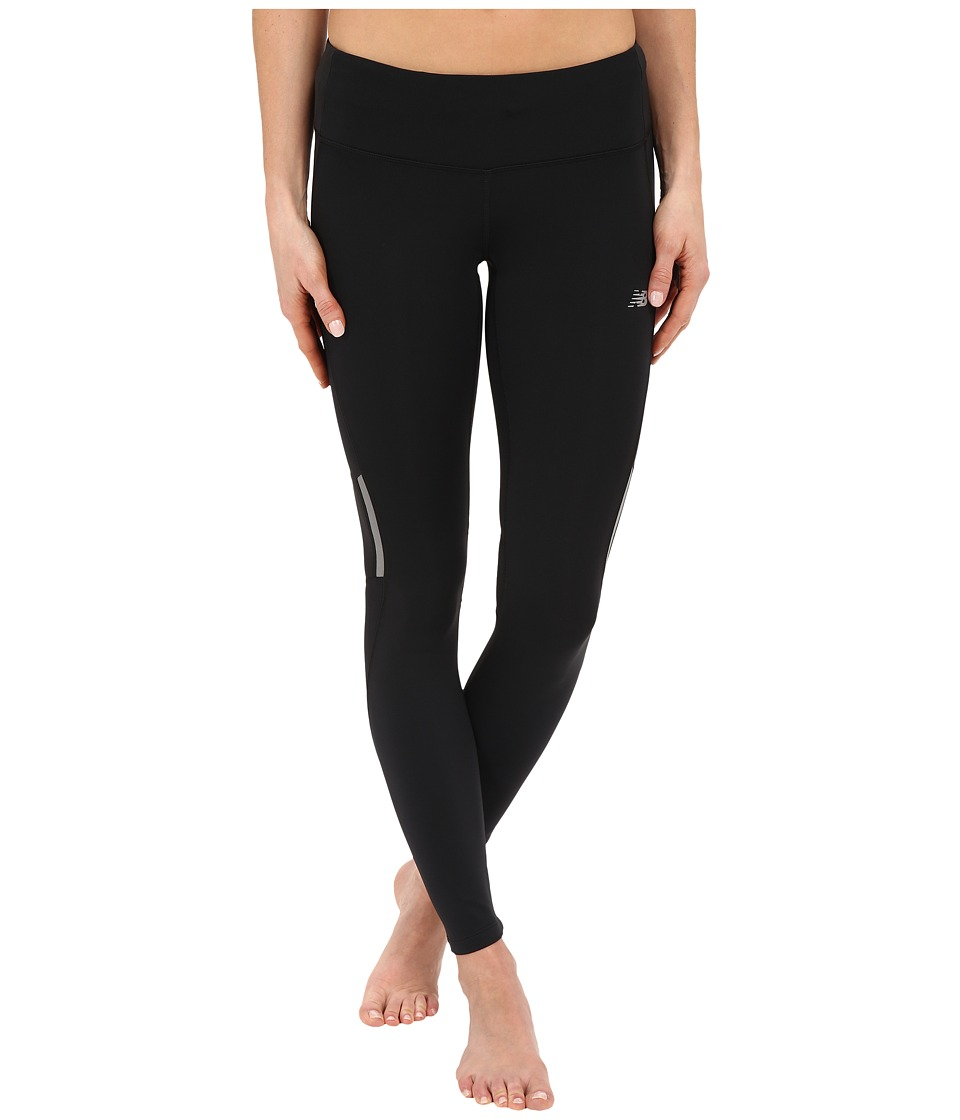 New Balance - Run Tights (Black) Women's Workout