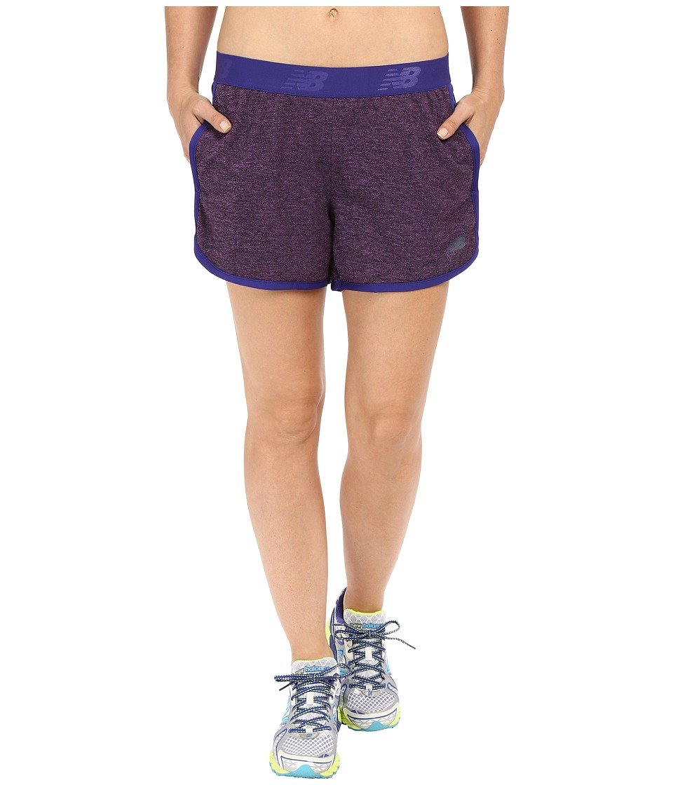 New Balance - Performance Shorts (Lazarite) Women's Shorts