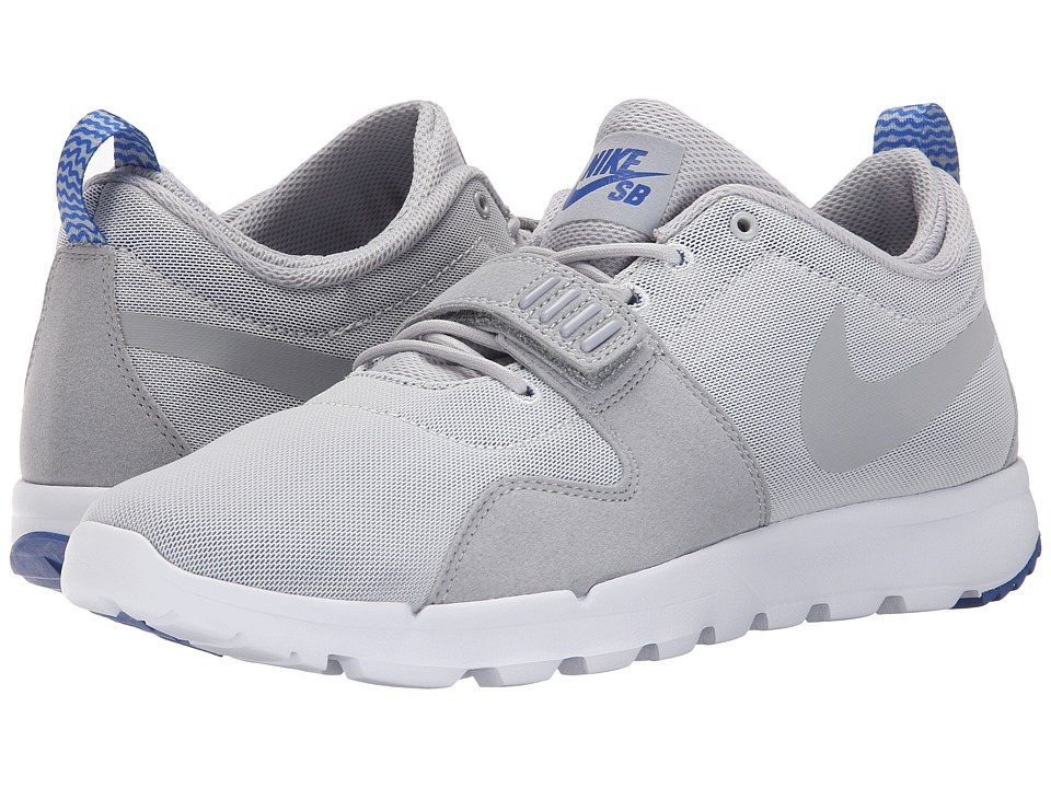 Nike SB - Trainerendor (Pure Platinum/Game Royal/White/Wolf Grey) Men's Skate Shoes