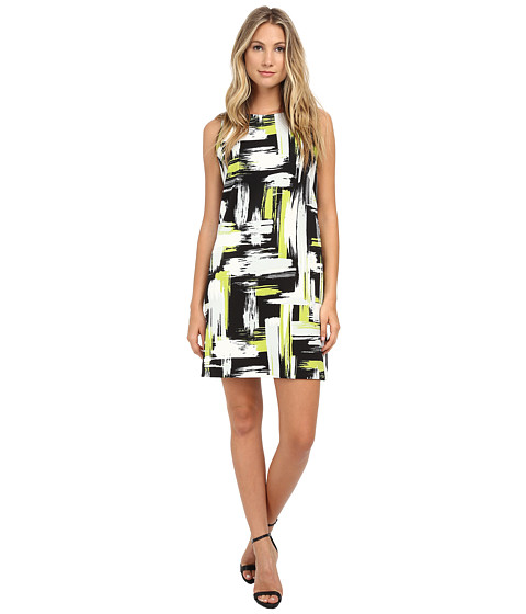 Jessica Howard - One-Piece Sleeveless Shift Dress (Green) Women's Dress