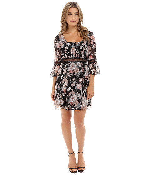 Gabriella Rocha - Harper Dress (Black/Pink) Women's Dress