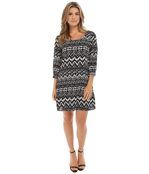 Gabriella Rocha - Lynn Dress (Black/Ivory) Women's Dress