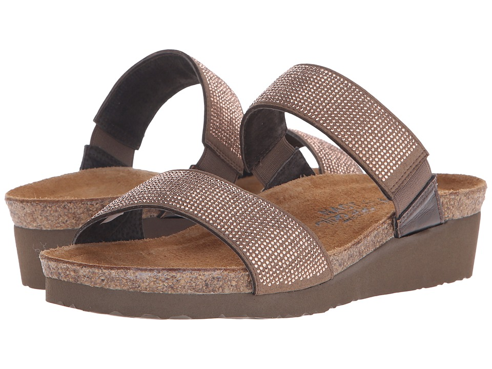 Naot Footwear - Bianca (Brown/Copper Rivets/Burnt Copper Leather) Women's Sandals