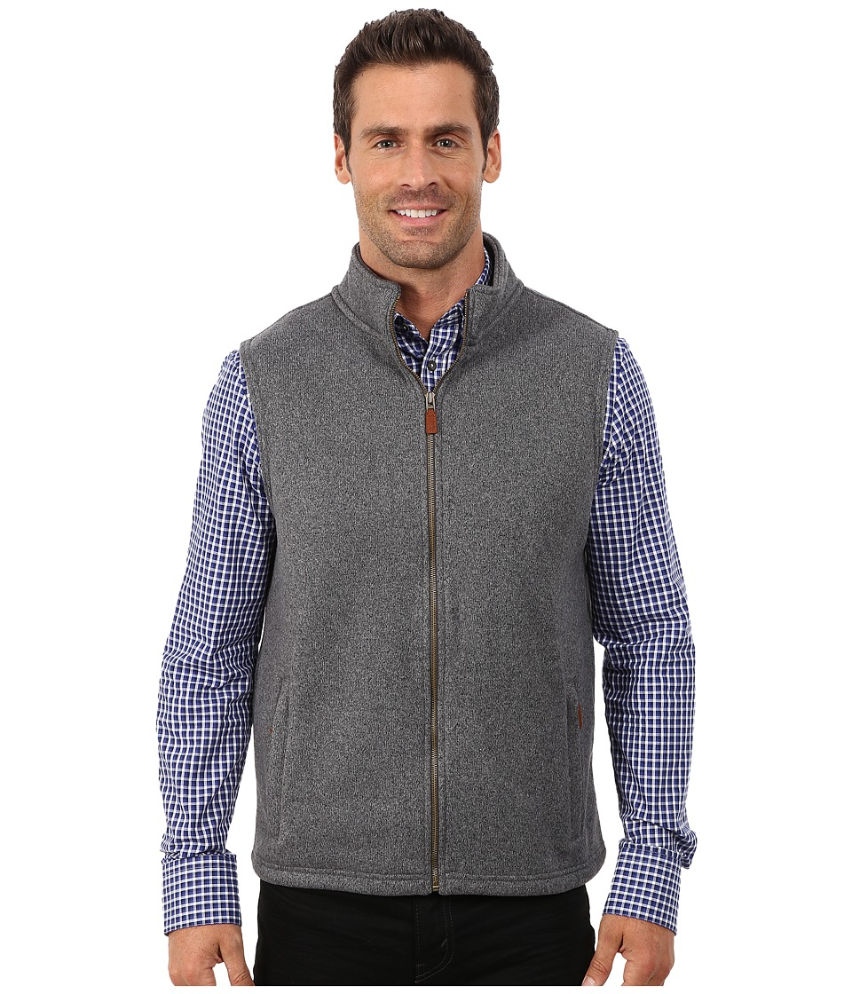Vineyard Vines - Harbour Island Knit Vest (Sullivan's Gray) Men's Vest