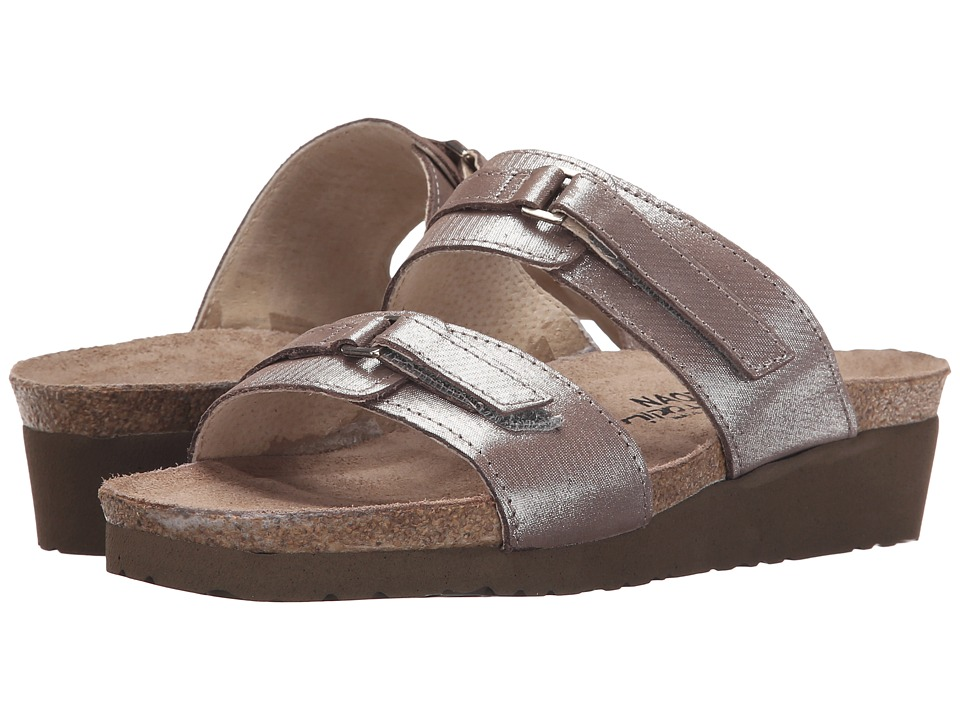 Naot Footwear - Carly (Silver Threads Leather) Women's Sandals