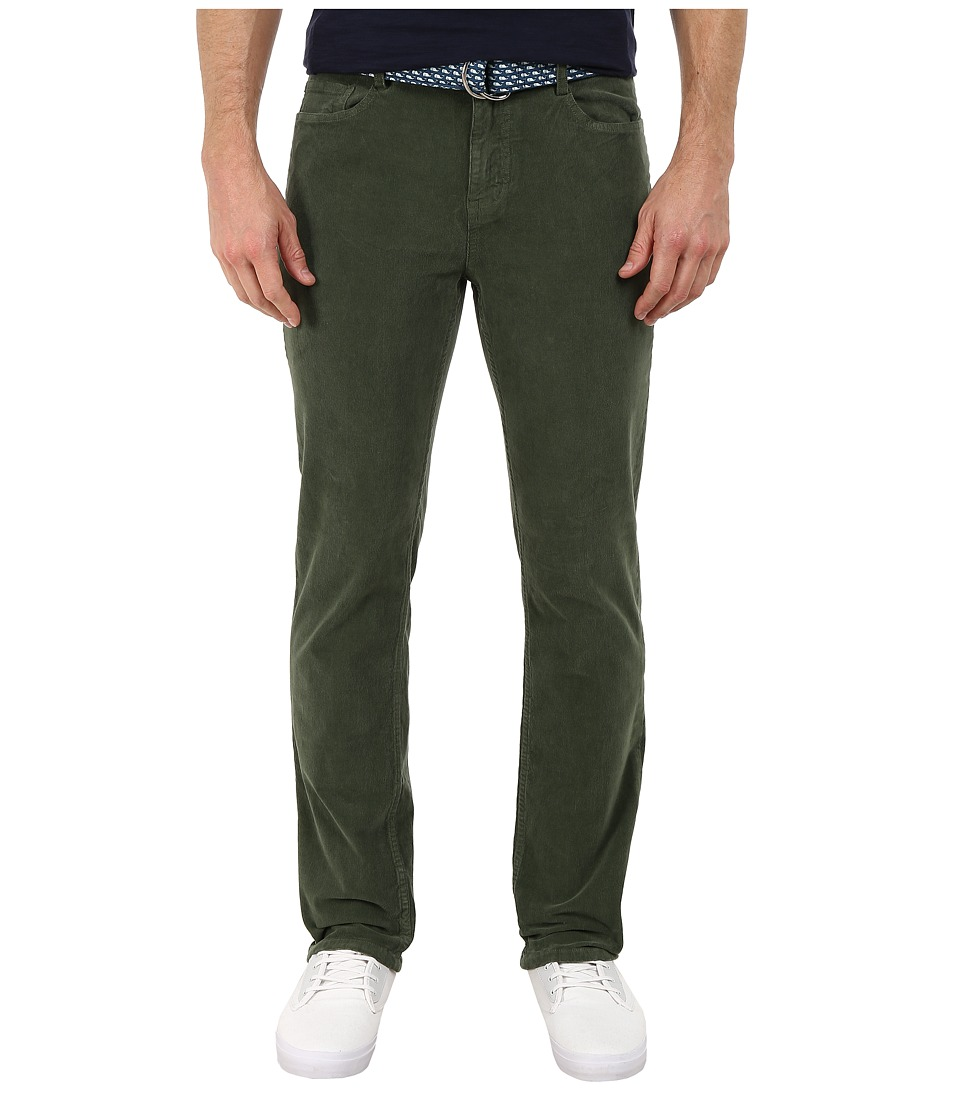 Vineyard Vines - Five-Pocket Cord Pants (Cargo Green) Men's Casual Pants
