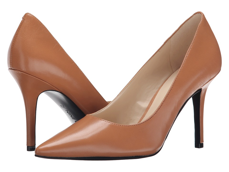 Nine West - Jackpot (Natural Leather) High Heels