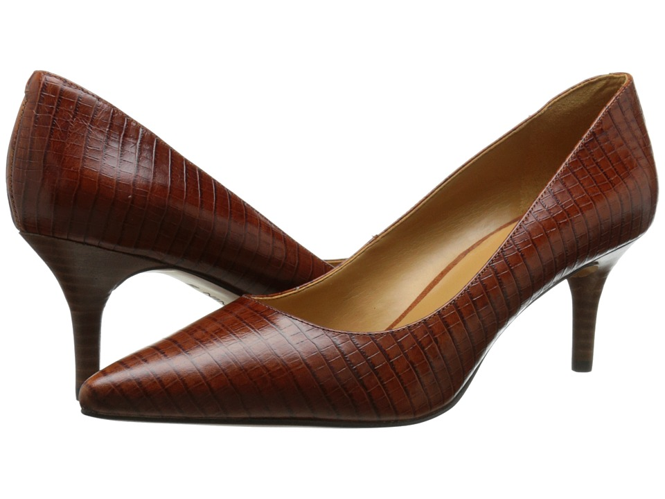 Nine West - Margot (Dark Natural Croco) High Heels