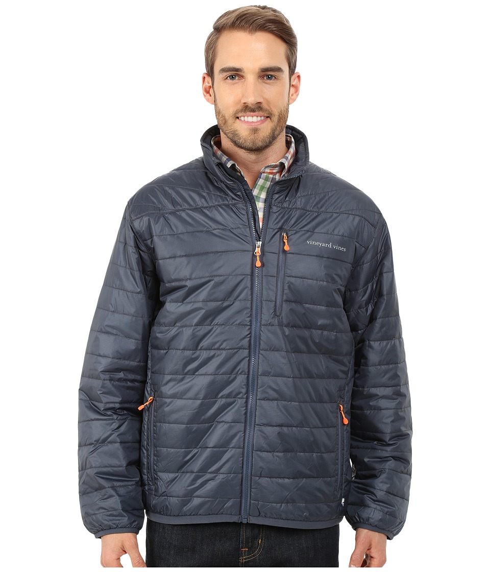 Vineyard Vines - Mountain Weekend Jacket (Seal Blue) Men's Coat