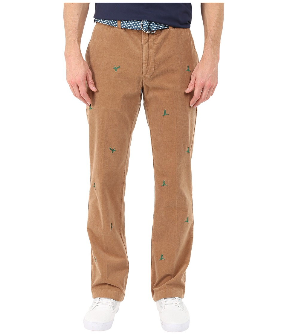 Vineyard Vines - Stretch Cord Breaker Embroidered Duck (Otter) Men's Casual Pants