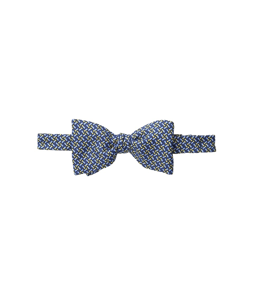 Vineyard Vines - Shotgun Shell Geo Bow Tie (Navy) Ties