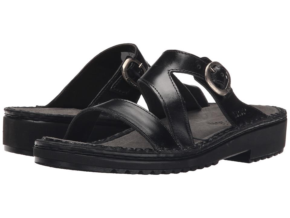 Naot - Geneva (Black Madras Leather) Women's Sandals