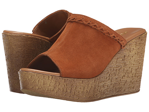 Athena Alexander - Gogo (Tan Suede) Women's Slide Shoes