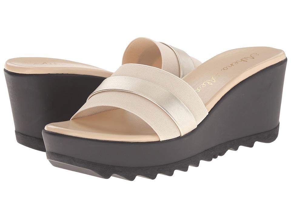 Athena Alexander - Jardin (Beige) Women's Slide Shoes