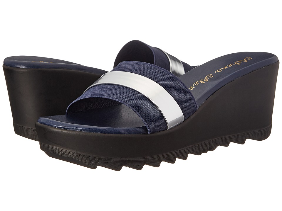 Athena Alexander - Jardin (Navy) Women's Slide Shoes
