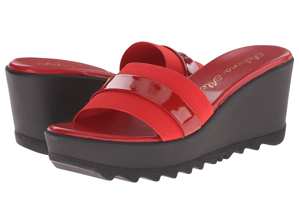 Athena Alexander - Jardin (Red) Women's Slide Shoes