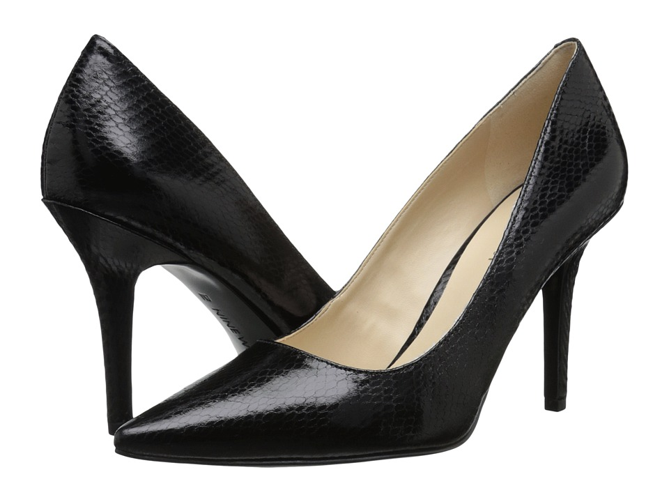 Nine West - Jackpot (Black Reptile) High Heels