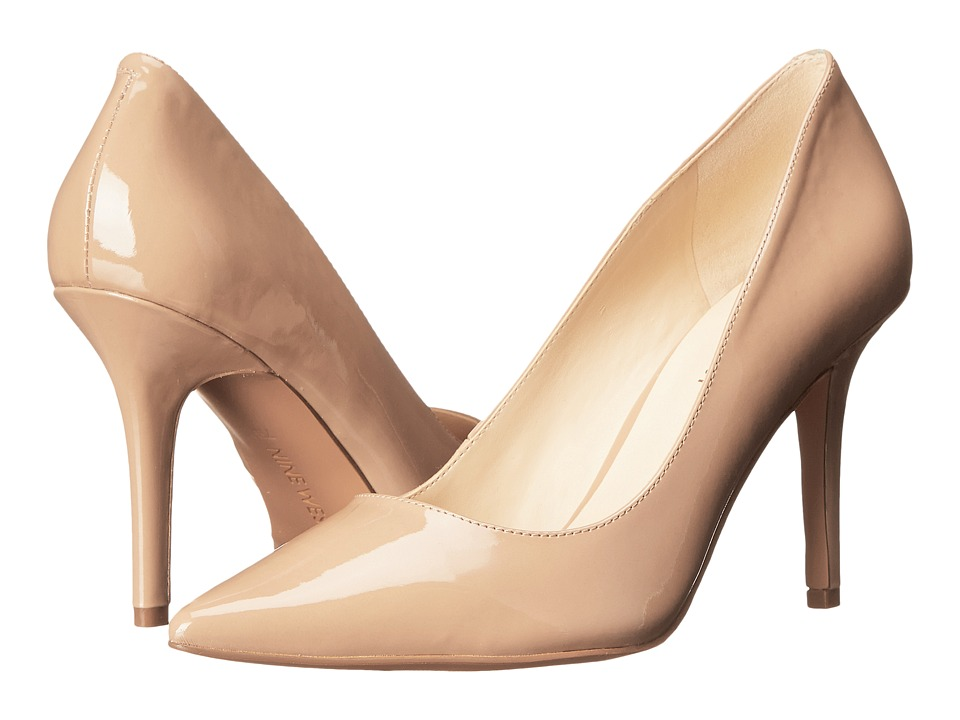 Nine West - Jackpot (Dark Natural Patent Synthetic) High Heels