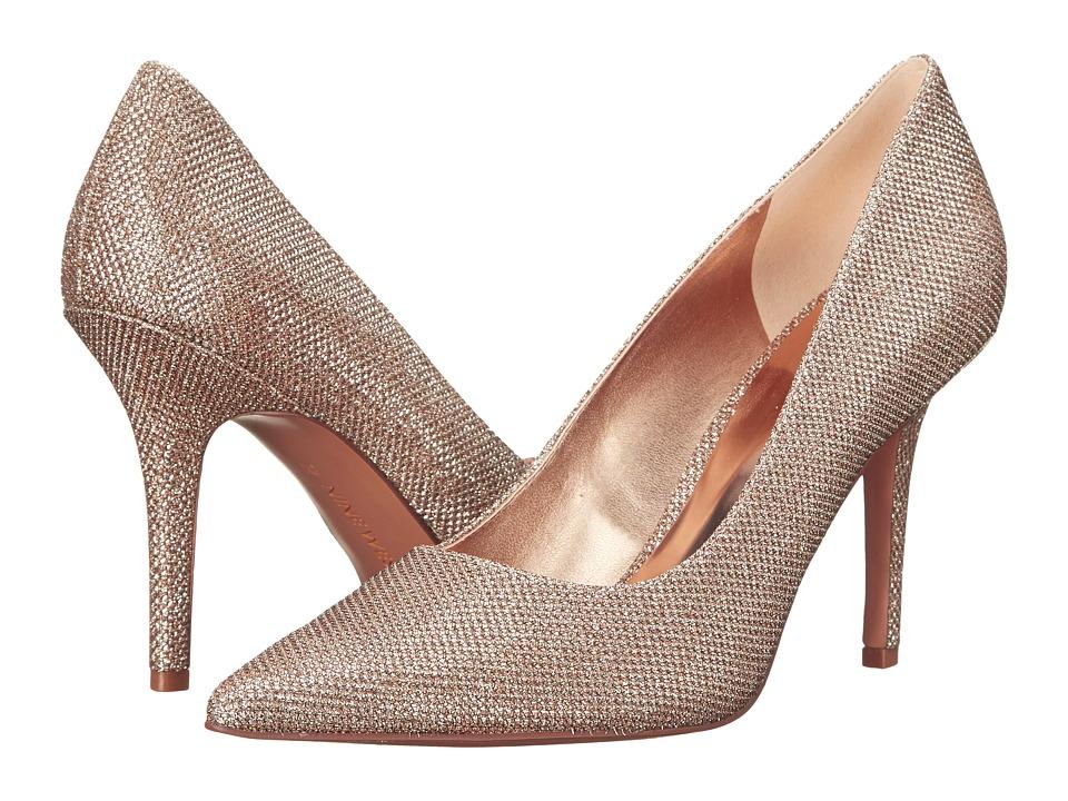 Nine West - Jackpot (Light Pink Fabric) High Heels