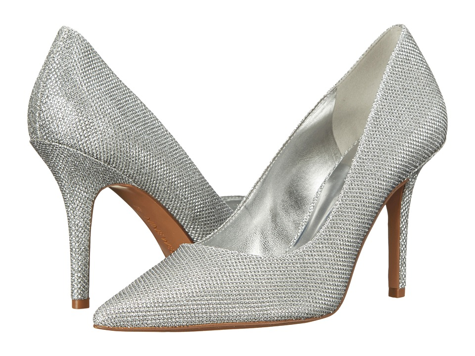 Nine West - Jackpot (Silver Sparkle) High Heels
