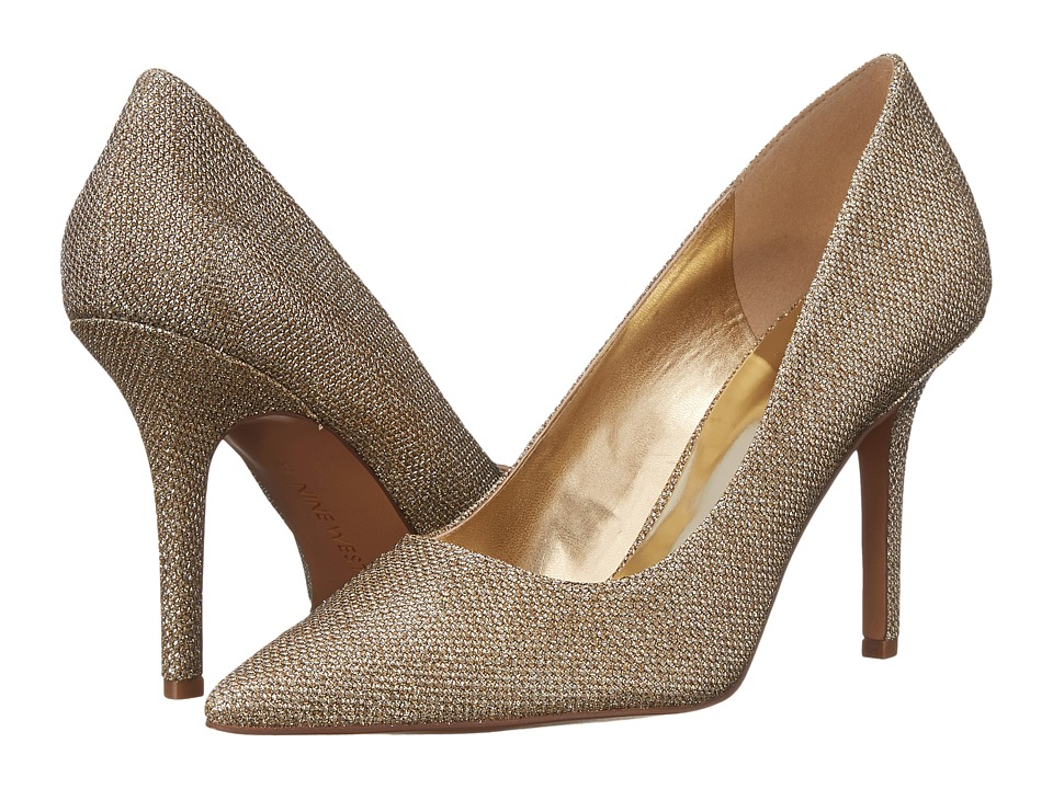 Nine West - Jackpot (Gold Sparkle) High Heels
