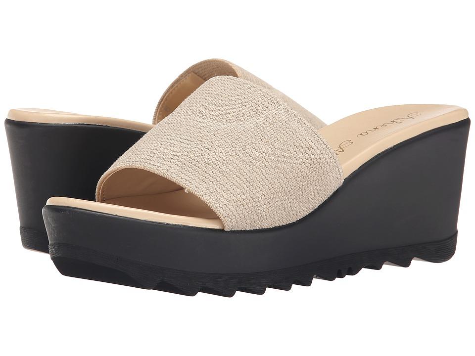 Athena Alexander - Manta (Khaki) Women's Wedge Shoes