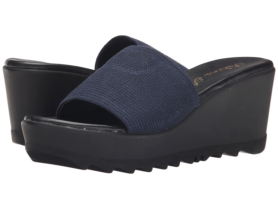 Athena Alexander - Manta (Navy) Women's Wedge Shoes