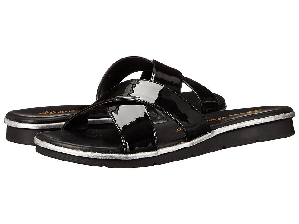 Athena Alexander - Norisse (Black Patent) Women's Slide Shoes