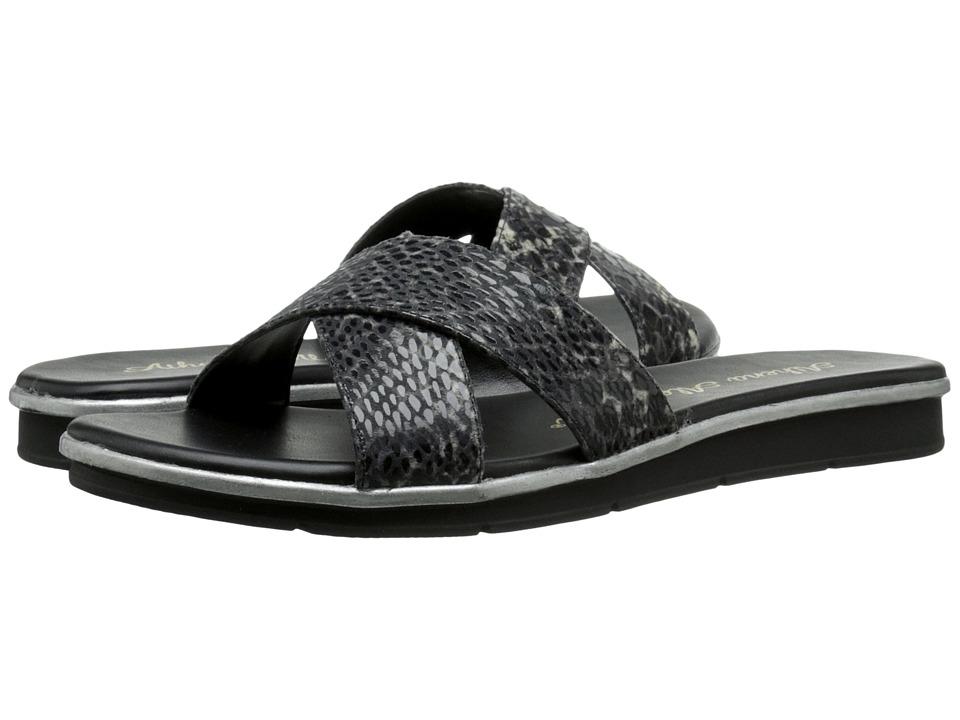 Athena Alexander - Norisse (Black Python) Women's Slide Shoes