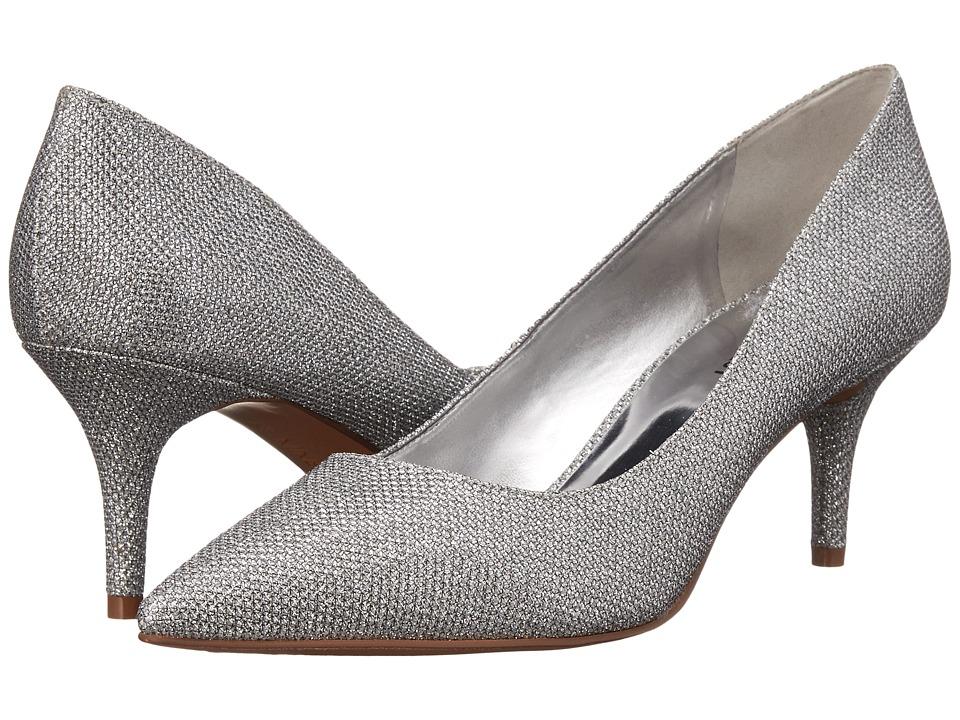 Nine West - Margot (Silver Sparkle) High Heels
