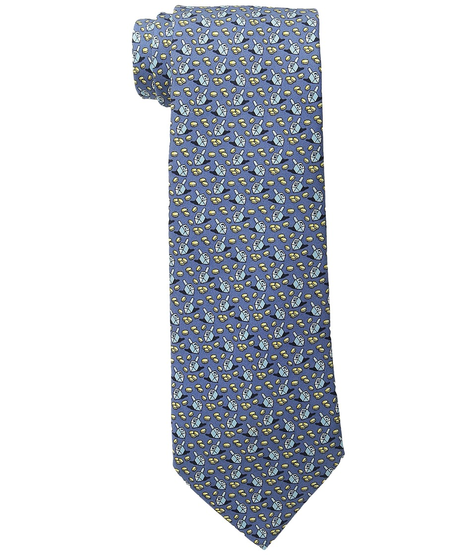 Vineyard Vines - Printed Tie - Hanukkah (Navy) Ties