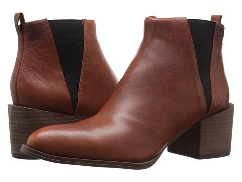 Nine West - Eaden (Dark Natural/Black Leather) Women