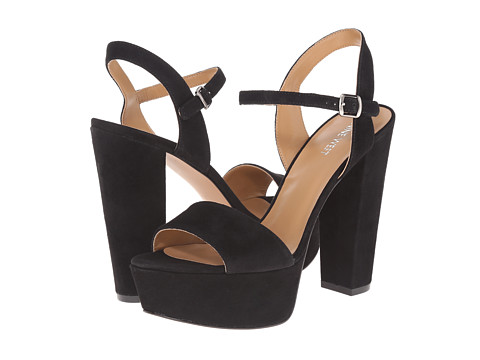 Nine West - Carnation (Black Suede) High Heels