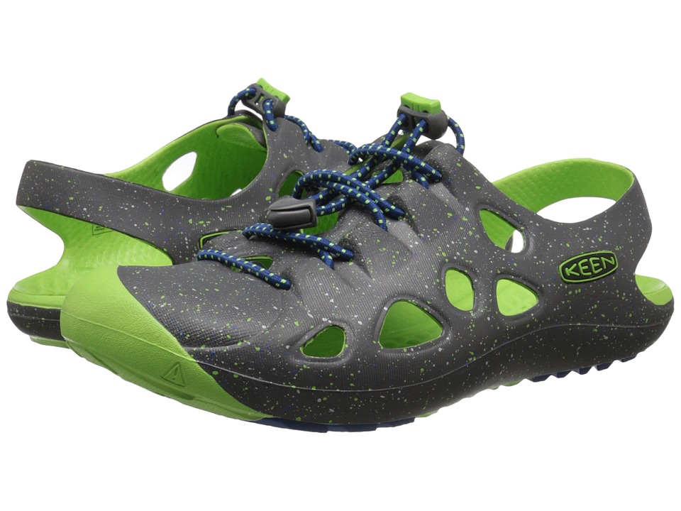 Keen Kids - Rio (Little Kid/Big Kid) (Magnet/Jasmine Green) Boys Shoes
