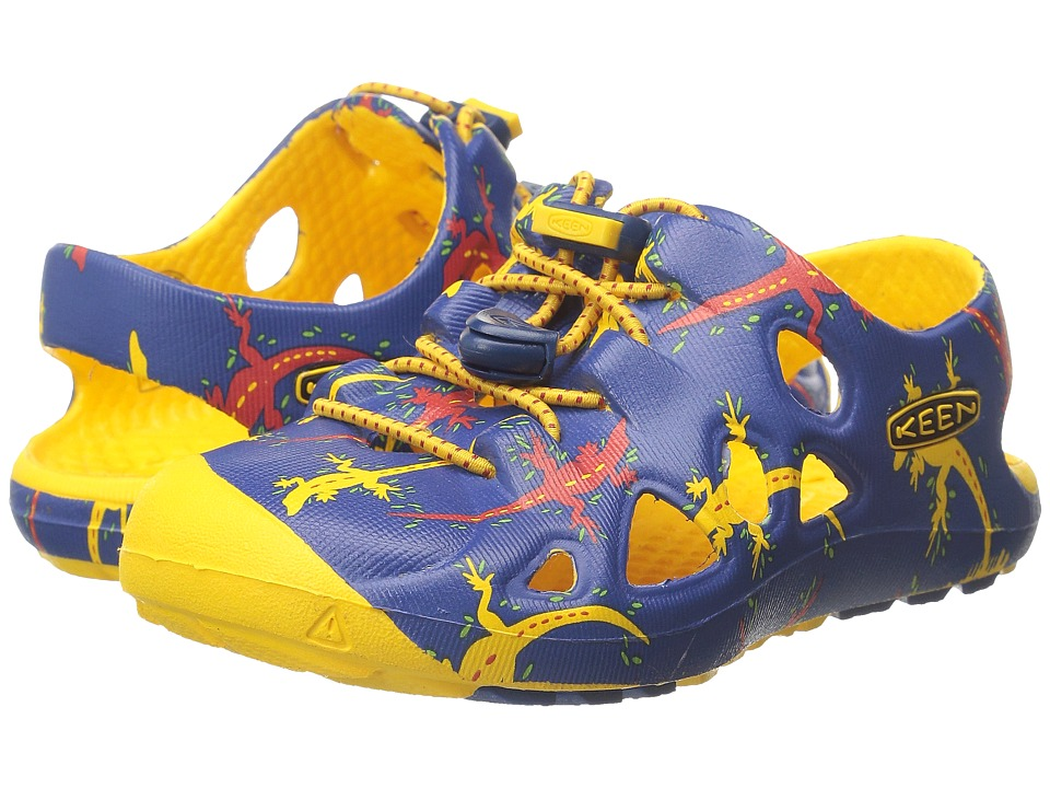 Keen Kids - Rio (Toddler) (True Blue Lizard) Boys Shoes