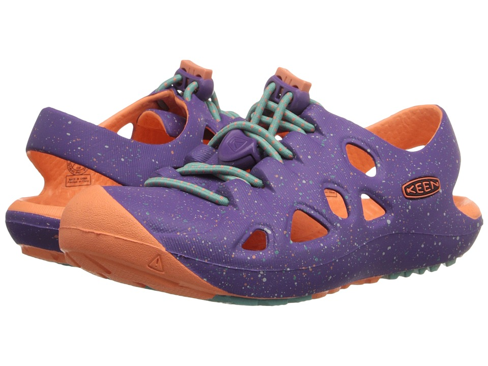 Keen Kids - Rio (Toddler/Little Kid) (Purple Heart/Fusion Coral) Girls Shoes