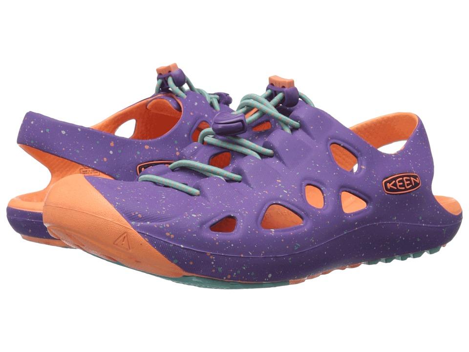 Keen Kids - Rio (Little Kid/Big Kid) (Purple Heart/Fusion Coral) Girls Shoes