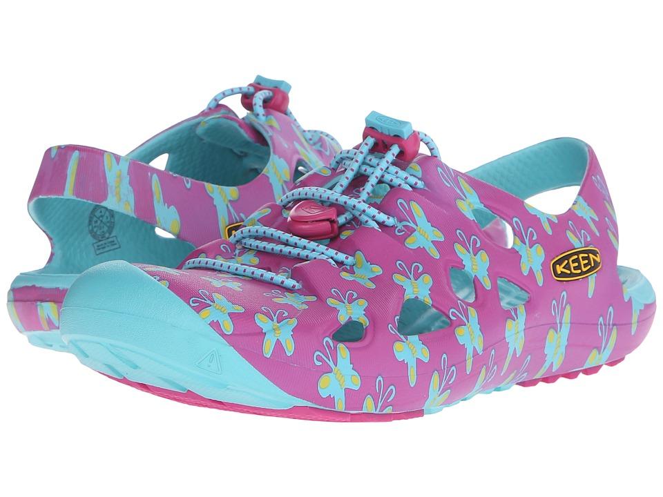 Keen Kids Rio (Little Kid/Big Kid) (Very Berry Butterfly) Girls Shoes